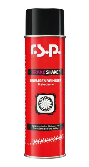 r.s.p. Brake Shake fietsreiniger 500ml rood